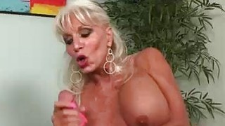 This blondes got her eyes on one thing Big Cock